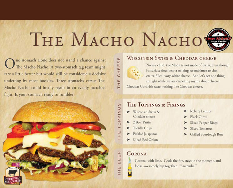 The Macho Nacho